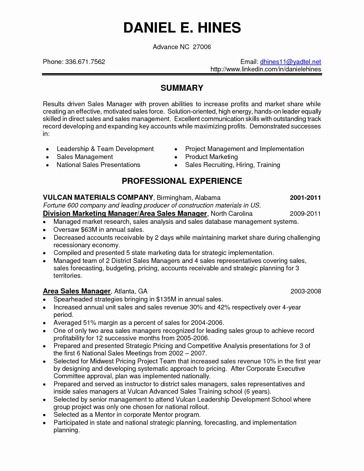 Sales Resume Skills Resume Ideas
