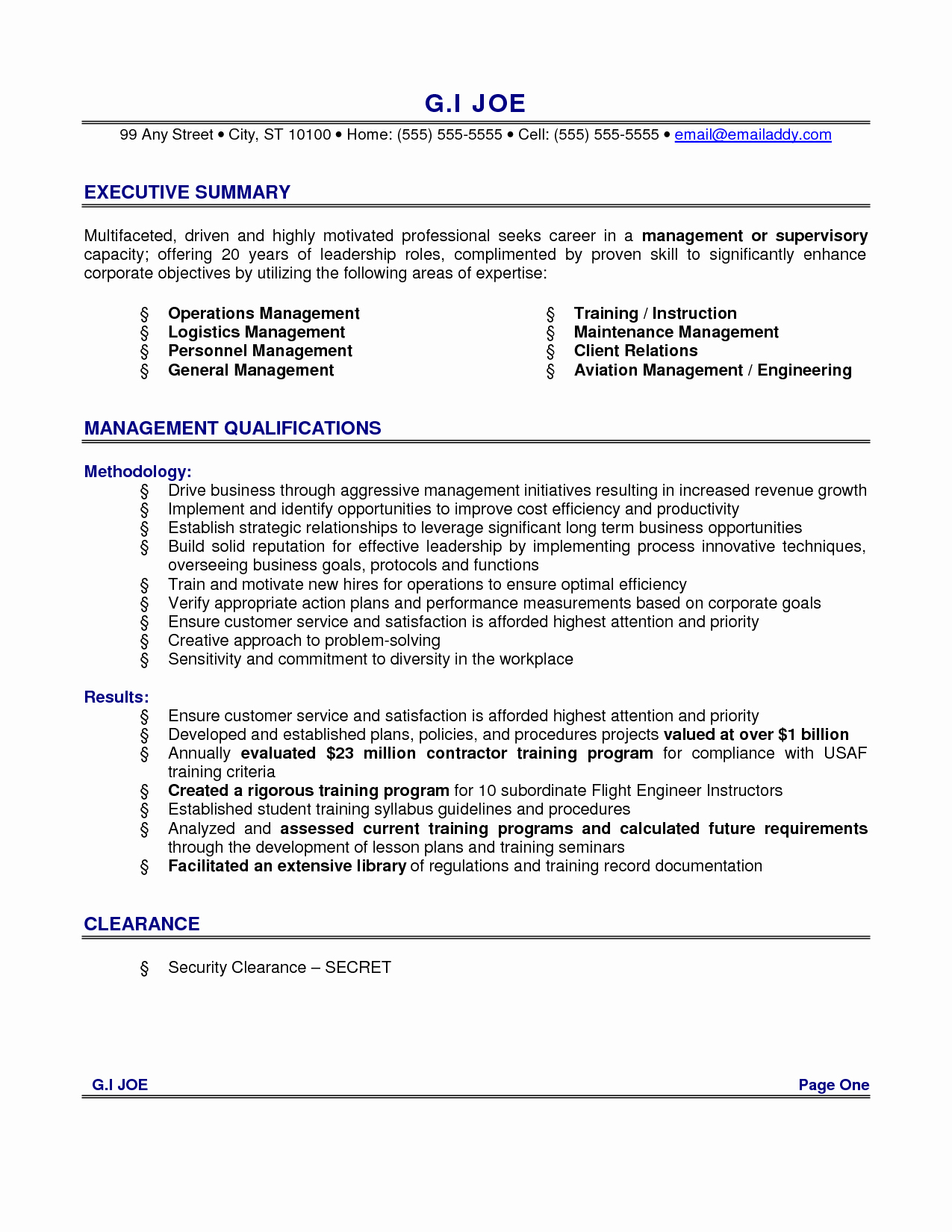 Sales Resume Summary Great Examples Basic Job Application