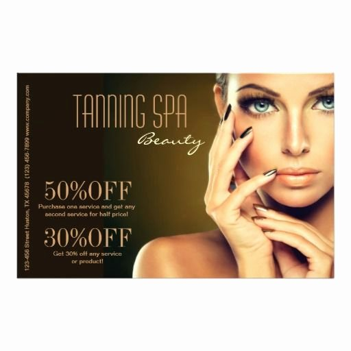Salon Flyer Template Design Fly Make Up Artists
