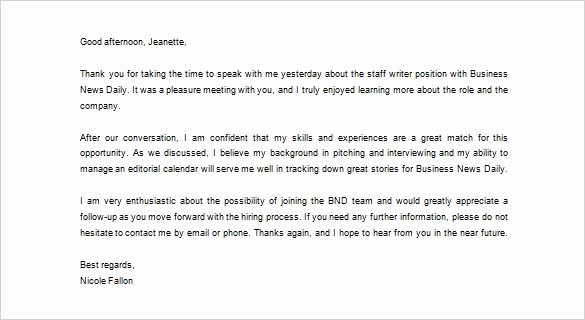 Sample Business Thank You Letter – 12 Free Word Excel