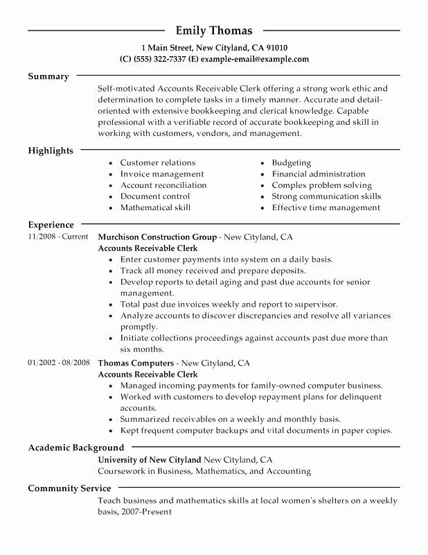 Sample Career Summary for Resume Professional Summary