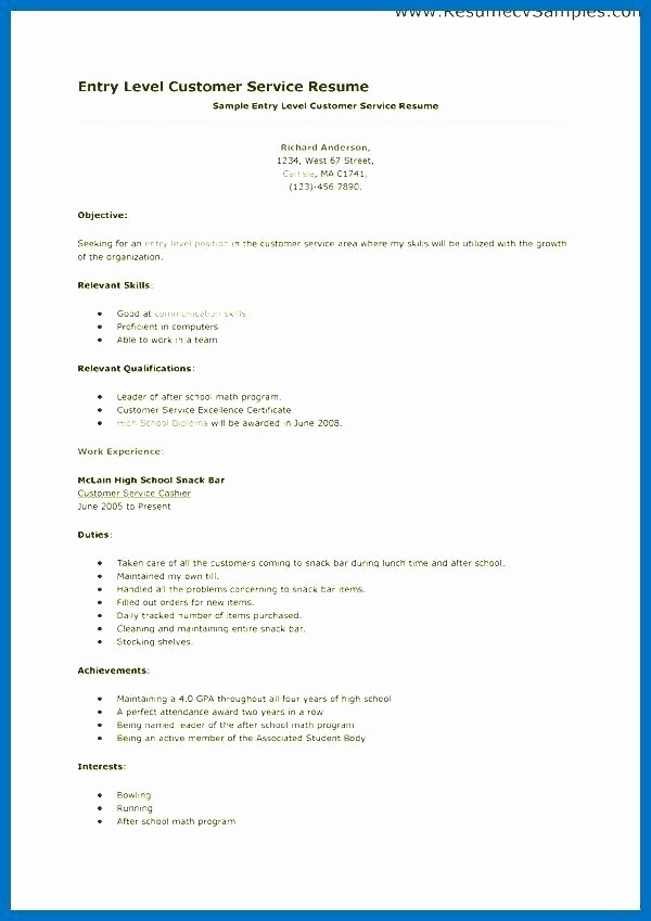 Sample Cover Letter Customer Service Representative Cover