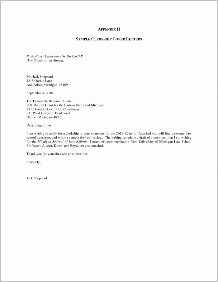 Sample Cover Letter for Job Application Doc Easy Resume