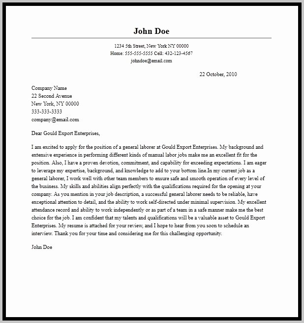Sample Cover Letter for Resume Microsoft Word Cover