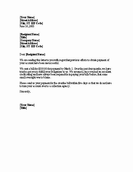 Sample Demand Letter Smart Letters