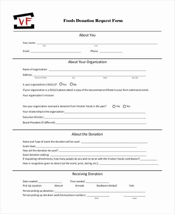 Sample Donation Request form 11 Free Documents In Doc Pdf