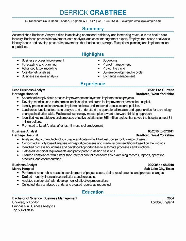 Sample Good Resumes Best Resume Gallery
