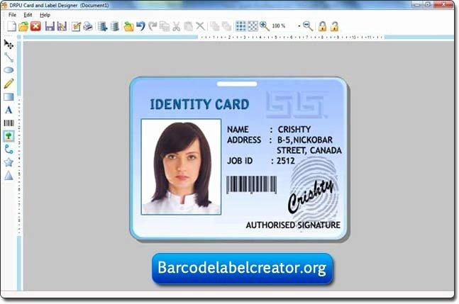 Sample Id Card Design Template Beautiful Template Design