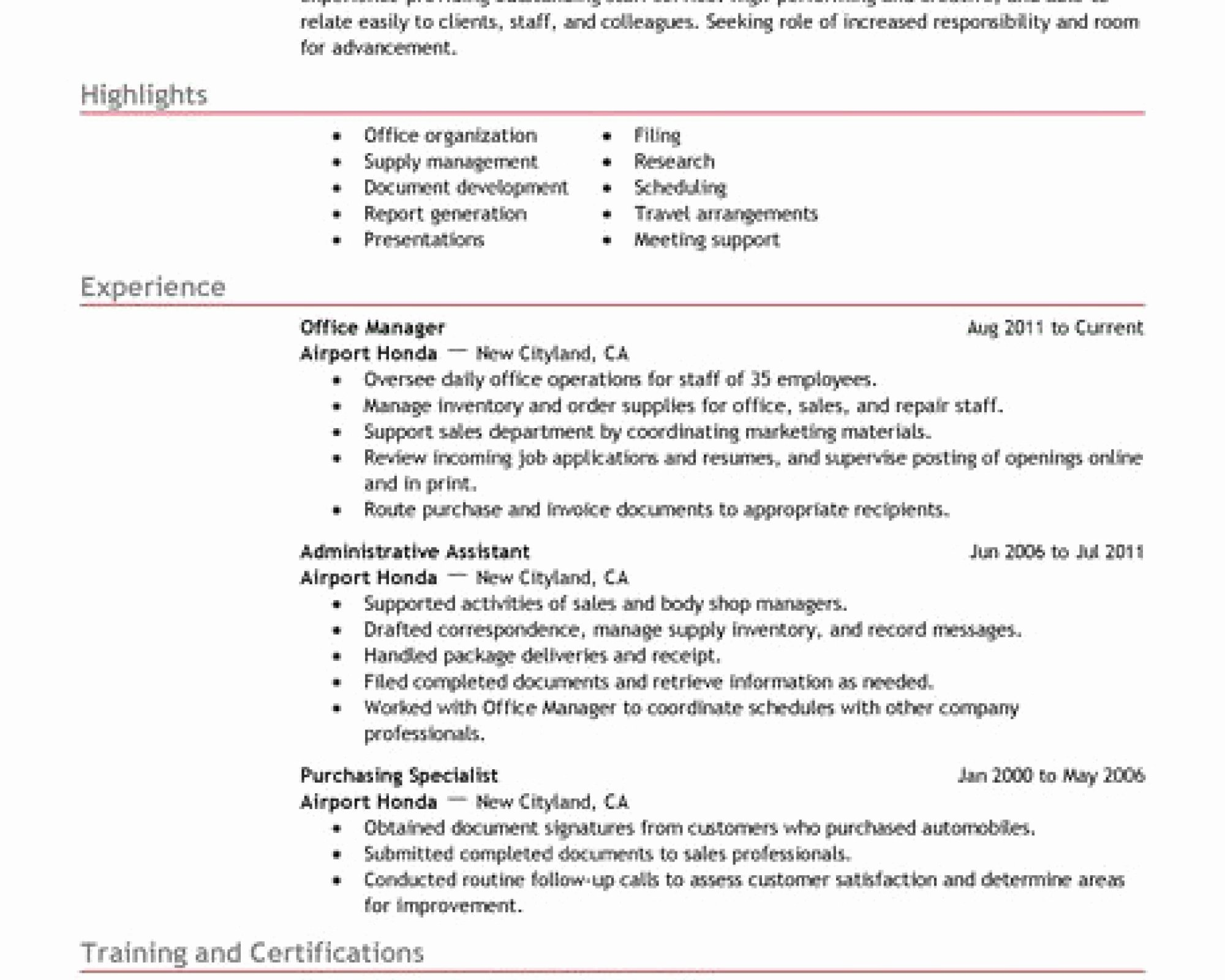 Sample Information Technology Manager Resume Elegant