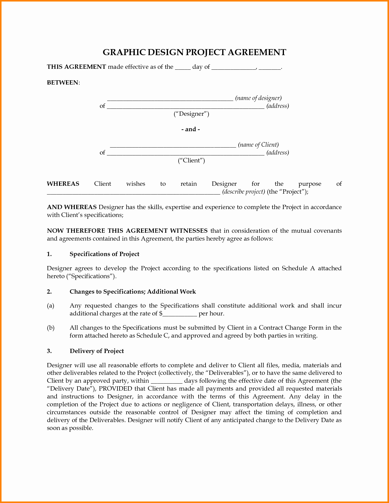 sample interior design contract letter of agreement