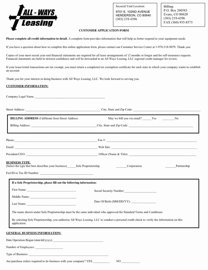 Sample Letter Intent to Return Leased Equipment