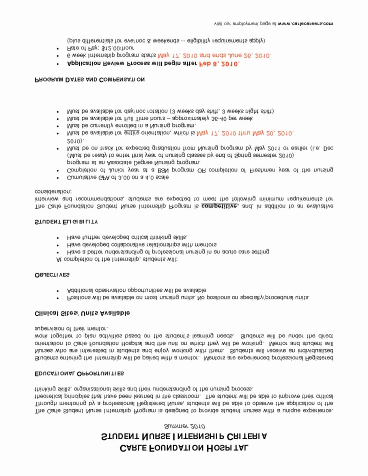Sample Nicu Nurse Resume