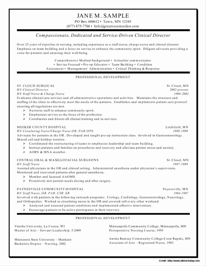 Sample Nurse Resume In Philippines Resume Resume