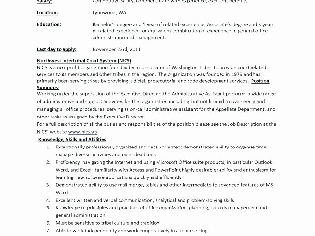 Sample Office Manager Resume – Creero