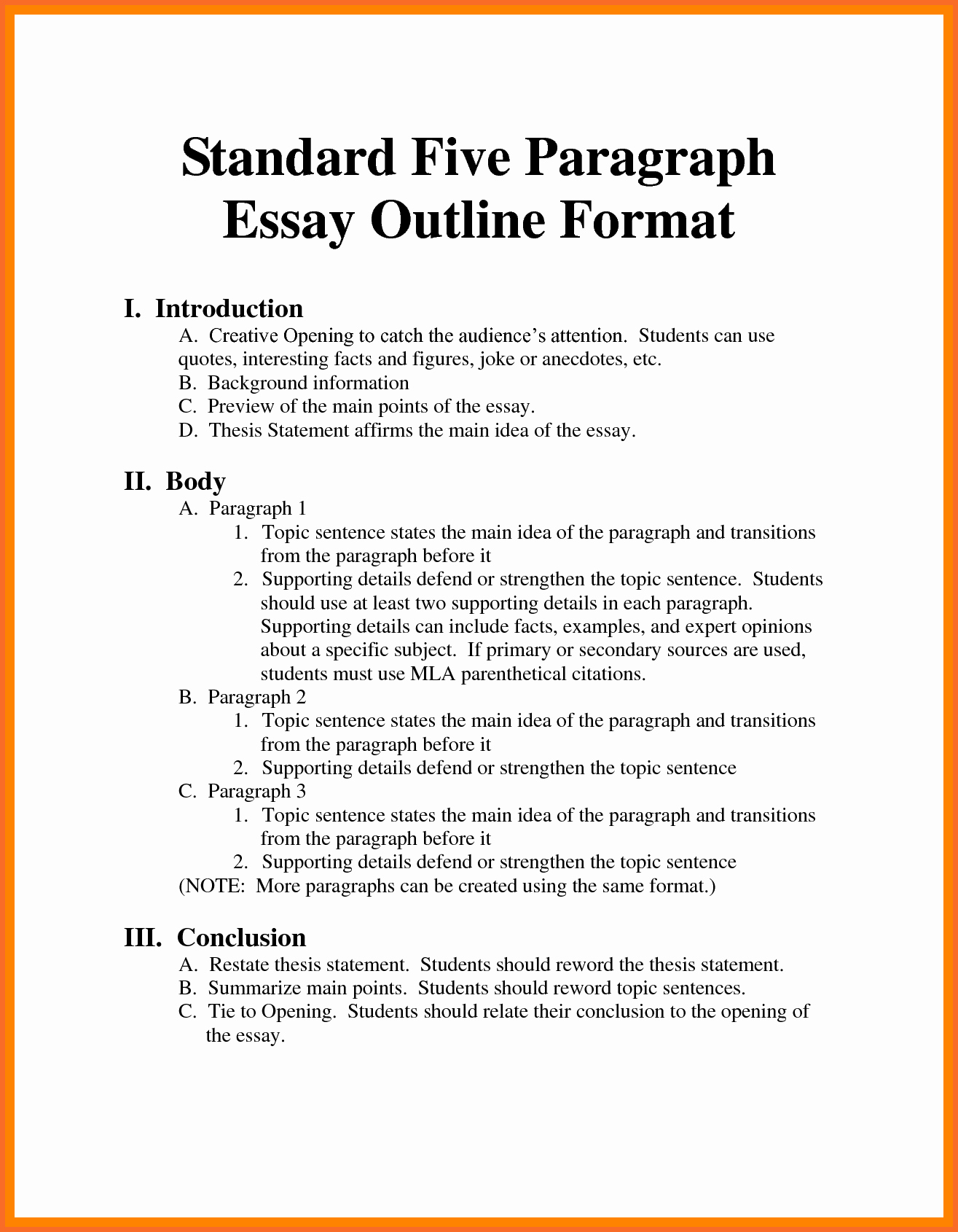 Sample Outline Mla format Research Paper Bamboodownunder