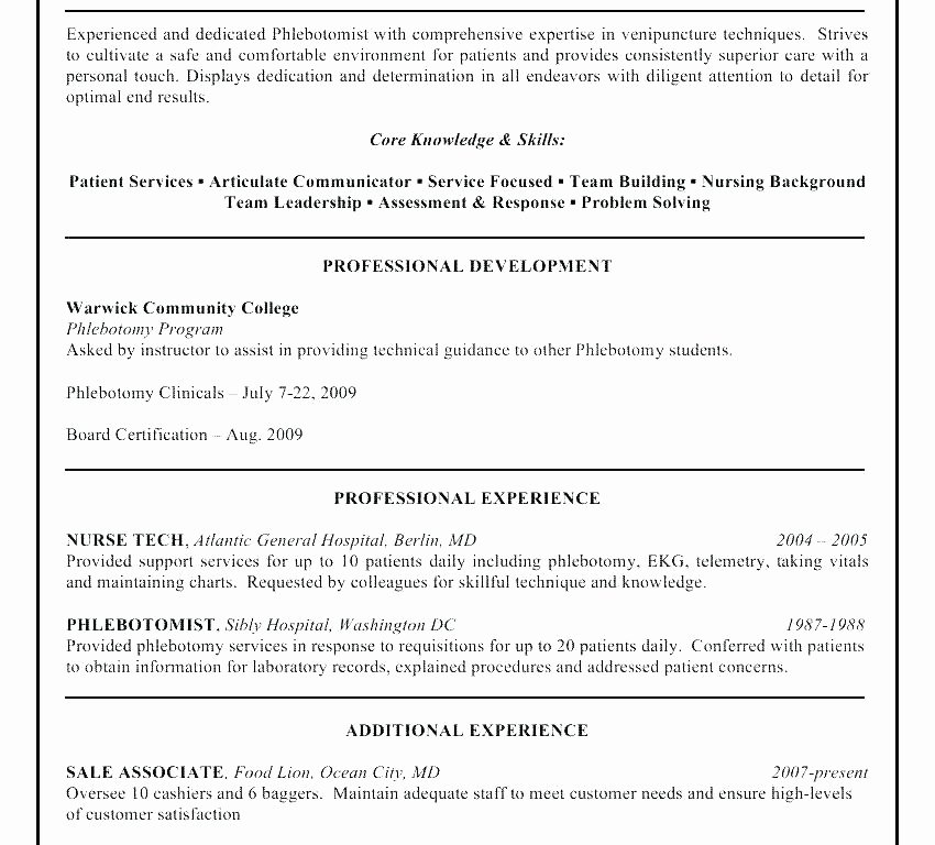 Sample Puter Technician Resume