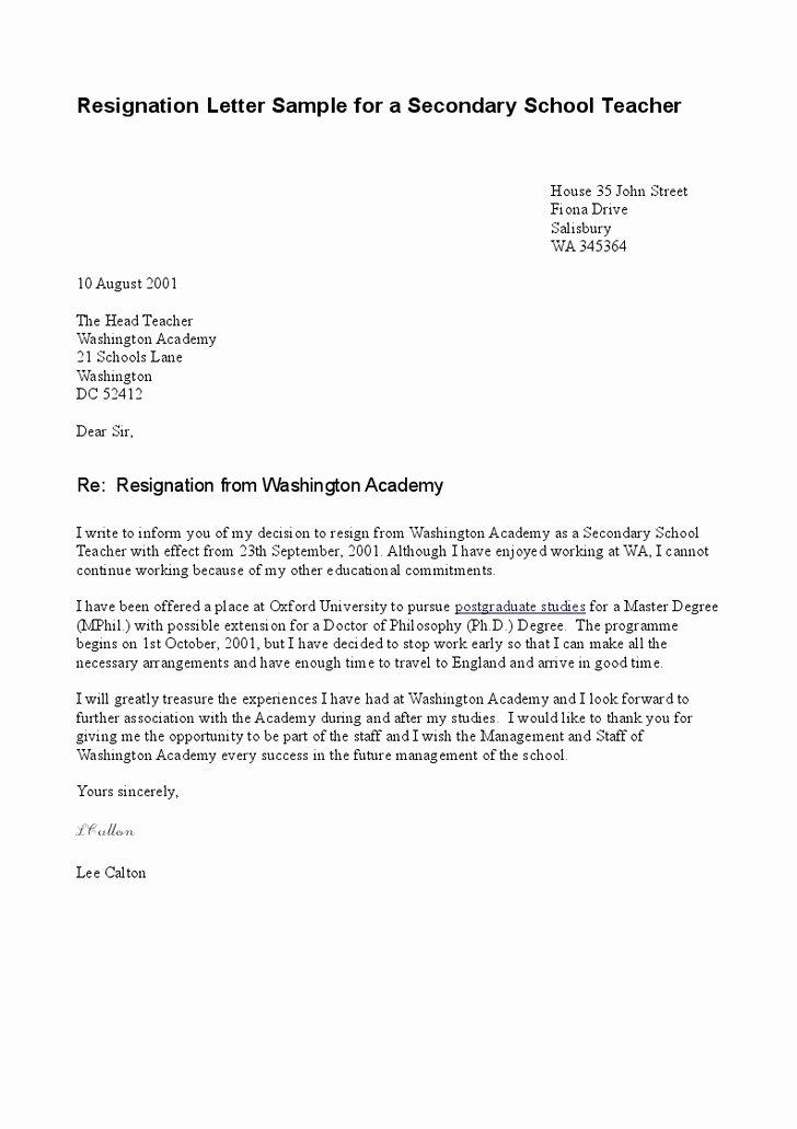 Sample Resignation Letter Resignation Letter format I Will