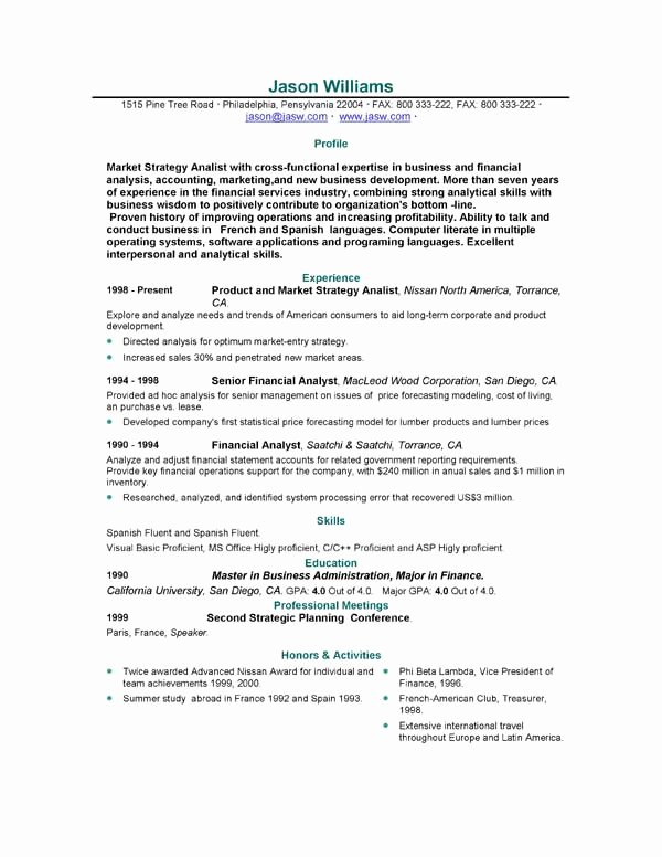 Sample Resume 85 Free Sample Resumes by Easyjob
