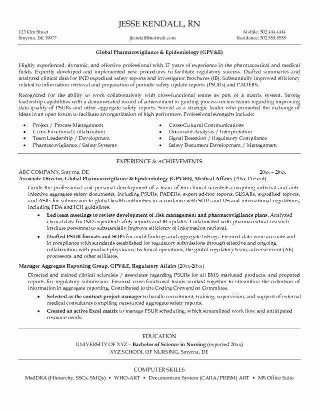 Sample Resume for Entry Level Healthcare Administration