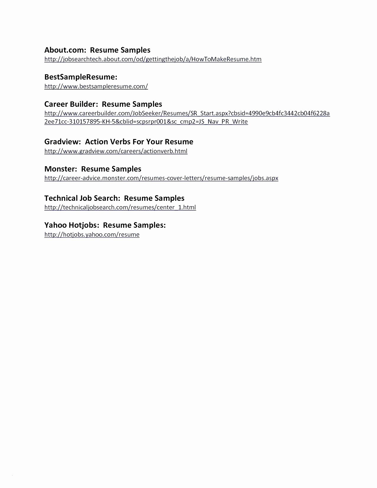 Sample Resume for Internship In Accounting