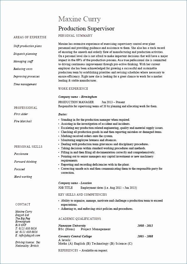 Sample Resume for Live In Caregiver In Canada
