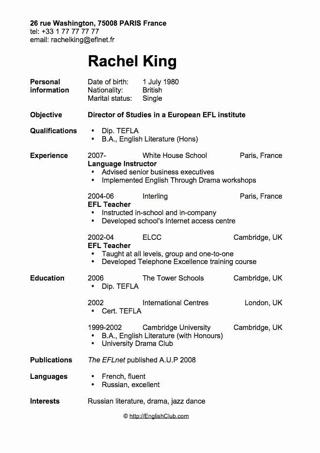 Sample Resume for Teenagers First Job