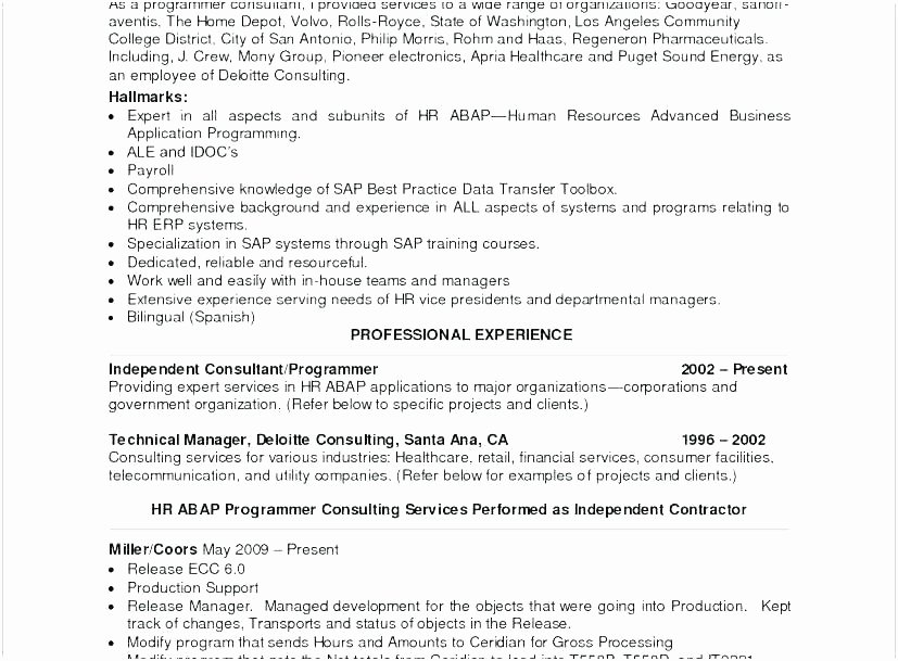 Sample Resume Job Skills Qualifications and Skill Summary