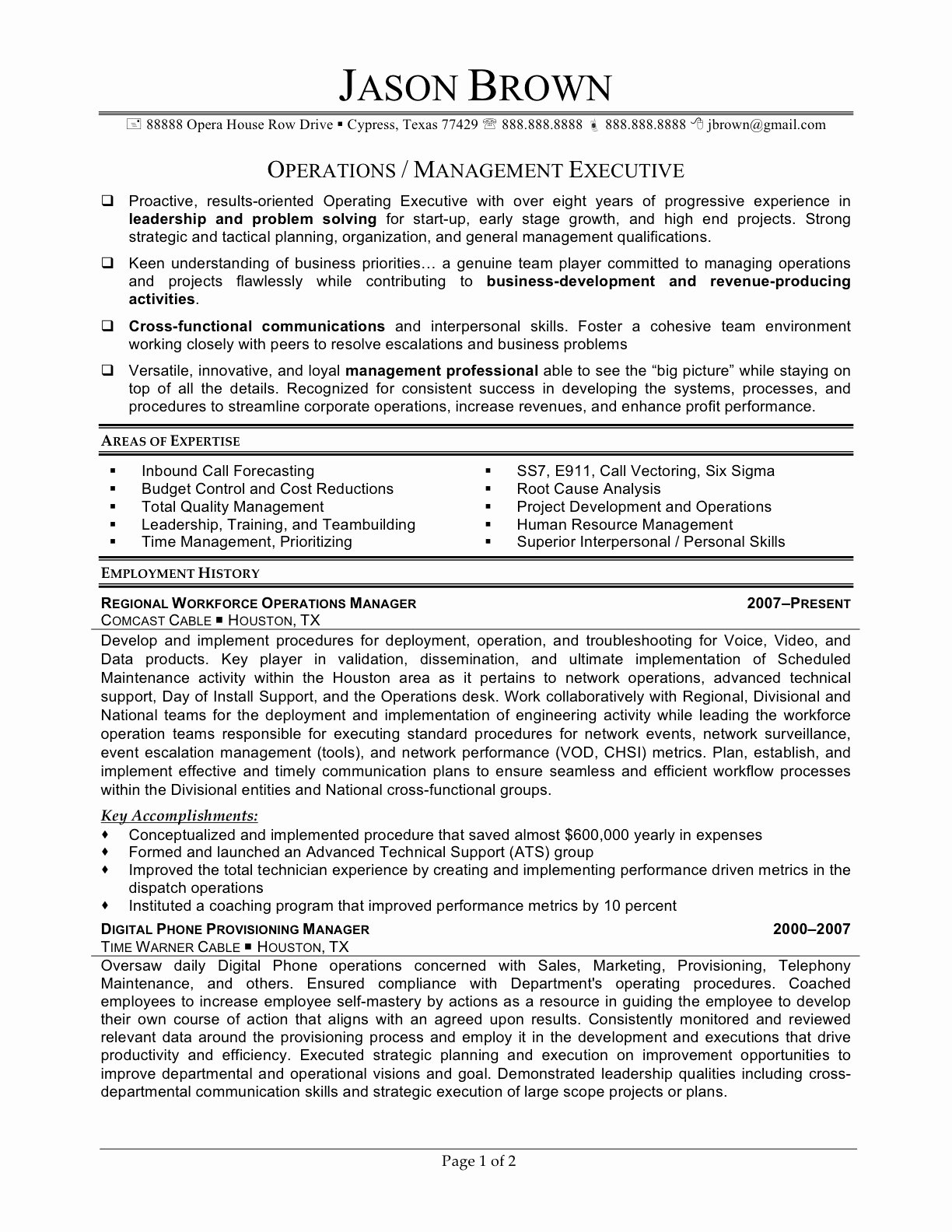 Sample Resume Production Manager Sidemcicek