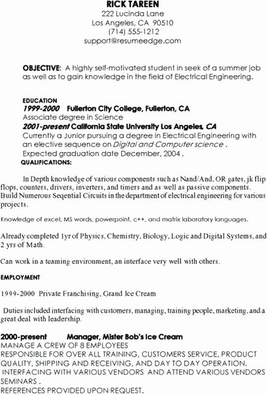 Sample Resume Puter Programmer Puter Programmer