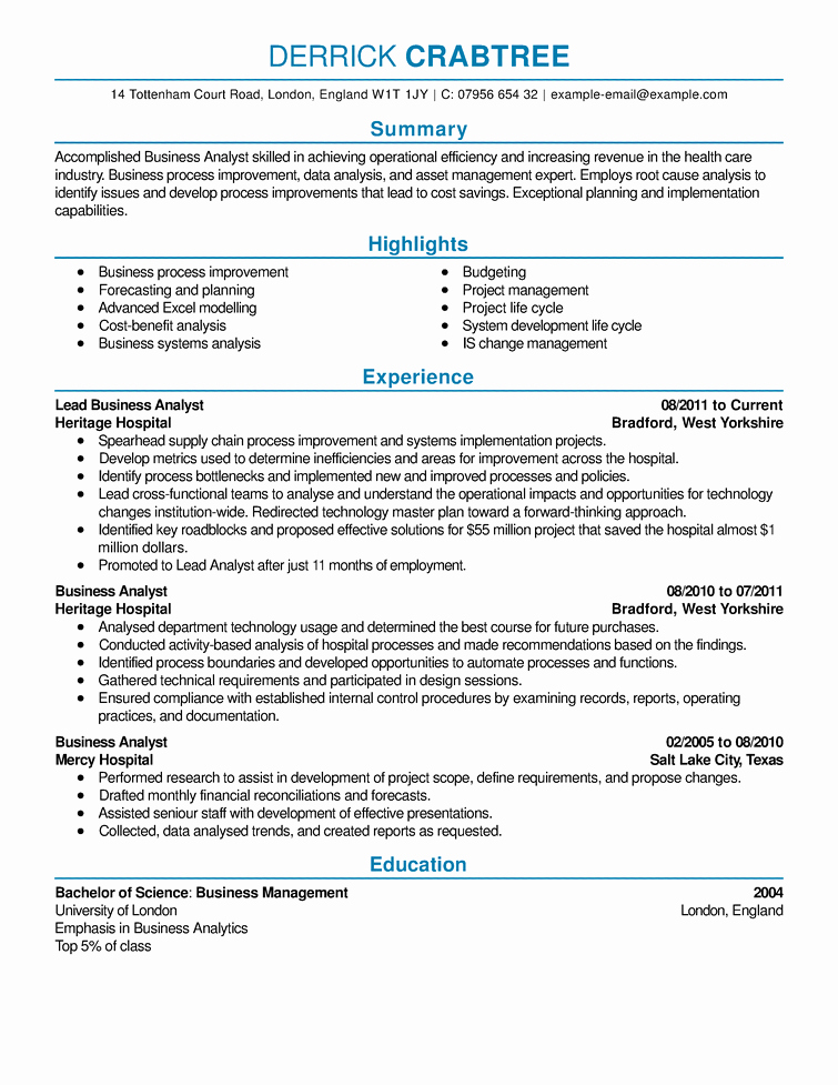 Sample Resume Resume Cv Example Template