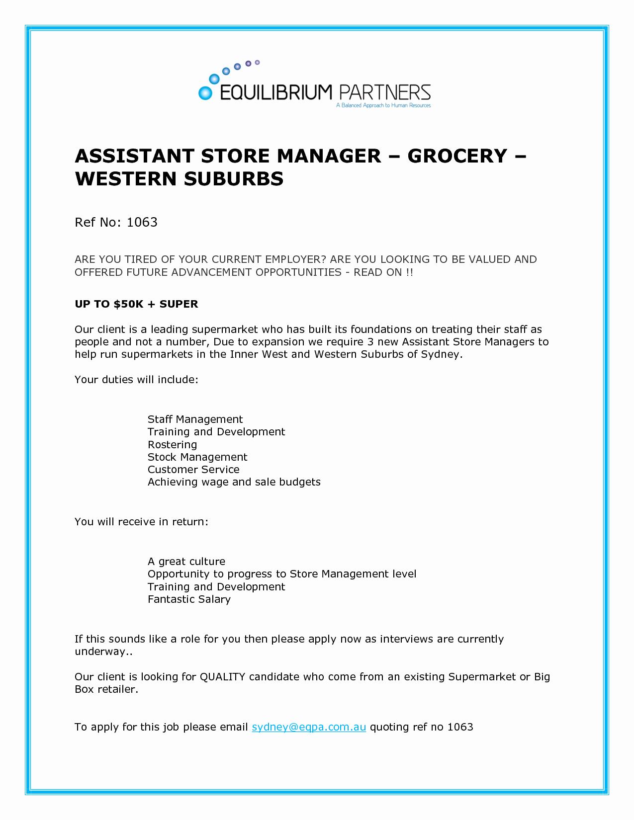 Sample Resume Shop assistant Grocery Bongdaao