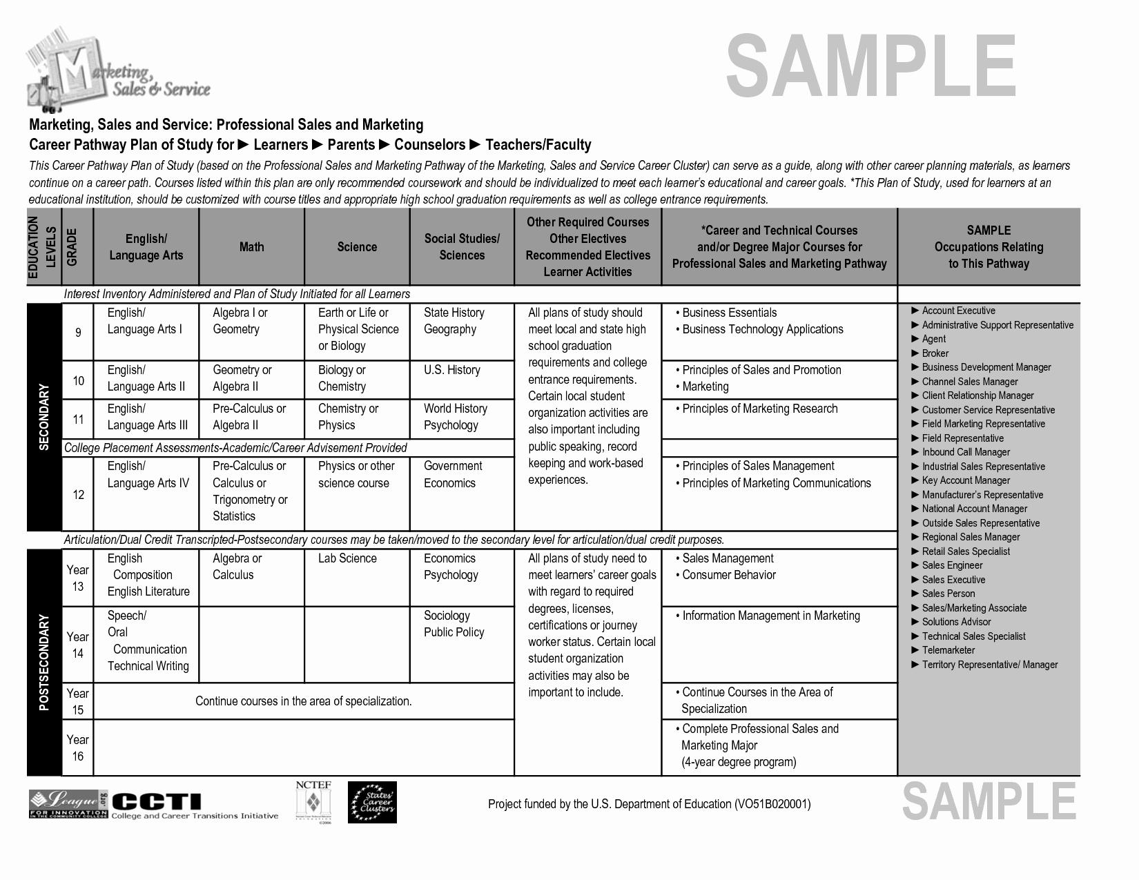 Sample Sales Plan Template Portablegasgrillweber