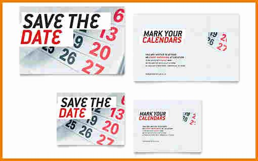 Sample Save the Date Letter Meeting