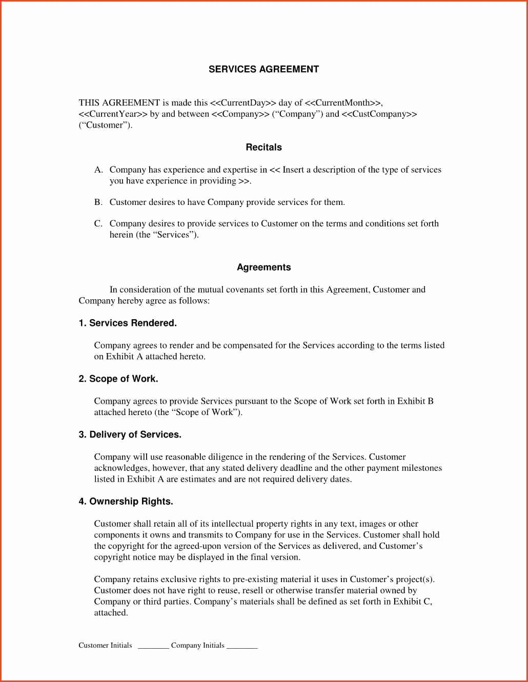 Sample Service Contract Proposal Cover Letter Samples