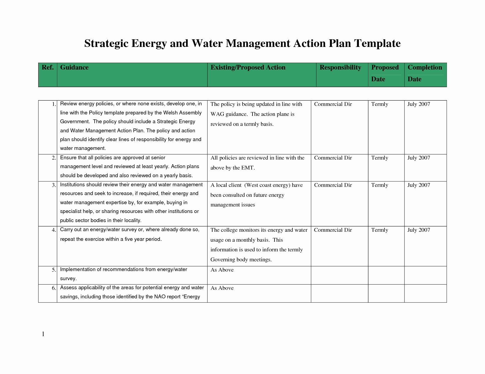 Sample Strategic Plan Template Portablegasgrillweber