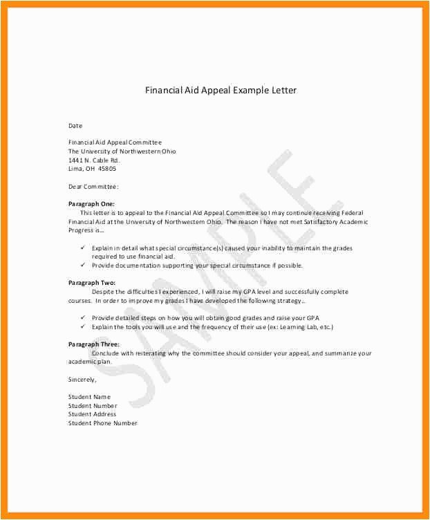 Sap Appeal Letter Example Gallery What is An Appeal Letter
