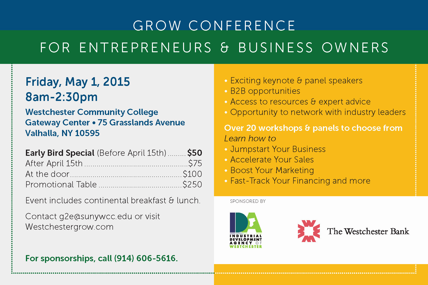 Save the Date Business Meeting