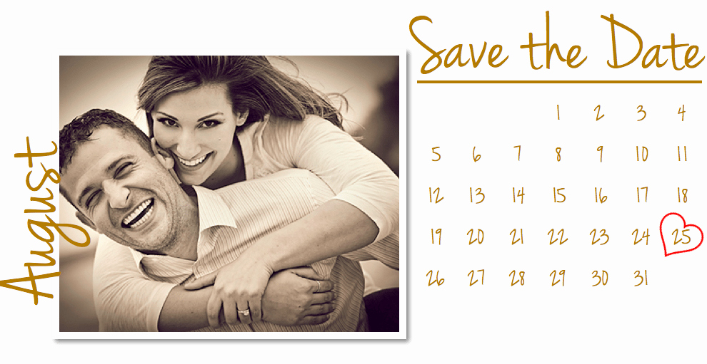Save the Date Card Template for Pages Free Iwork Templates