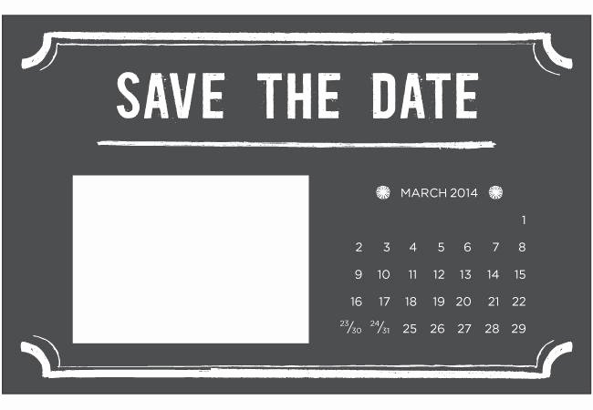 Save the Date Free Printable Templates