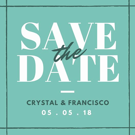 Save the Date Invitation Templates Canva
