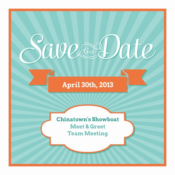 Save the Date Meeting for Pinterest