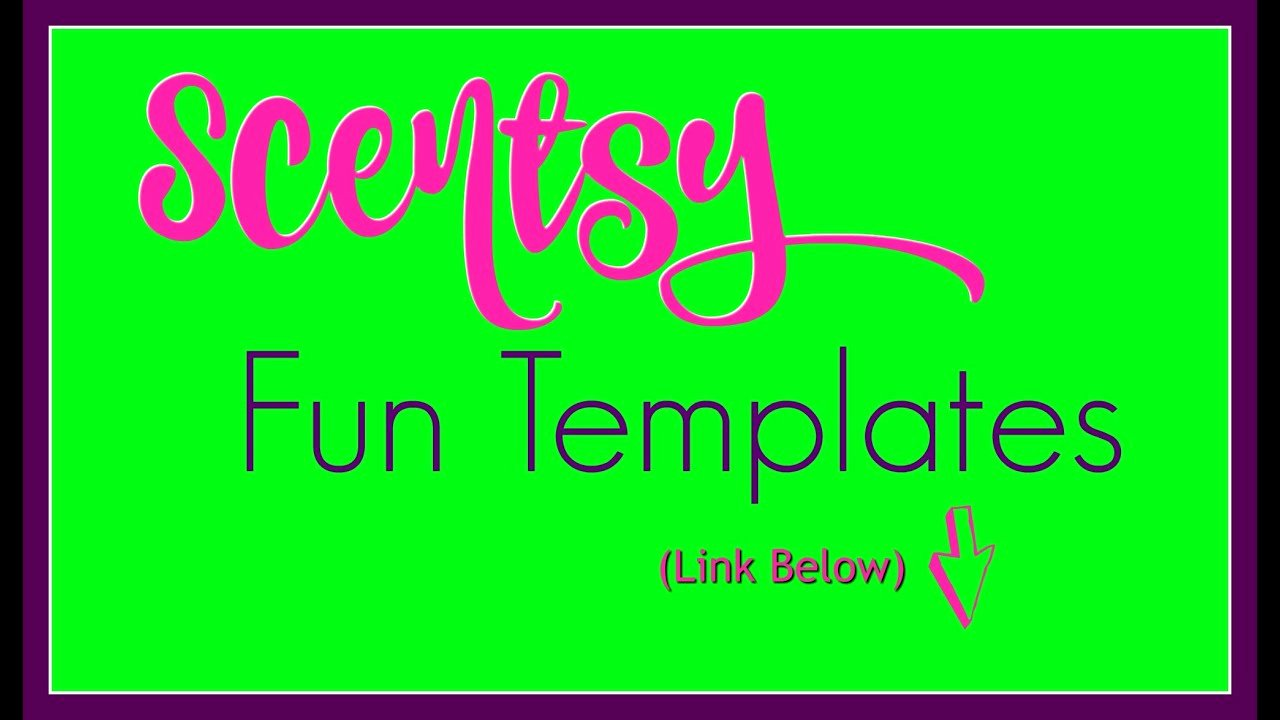 Scentsy Sample Label Template