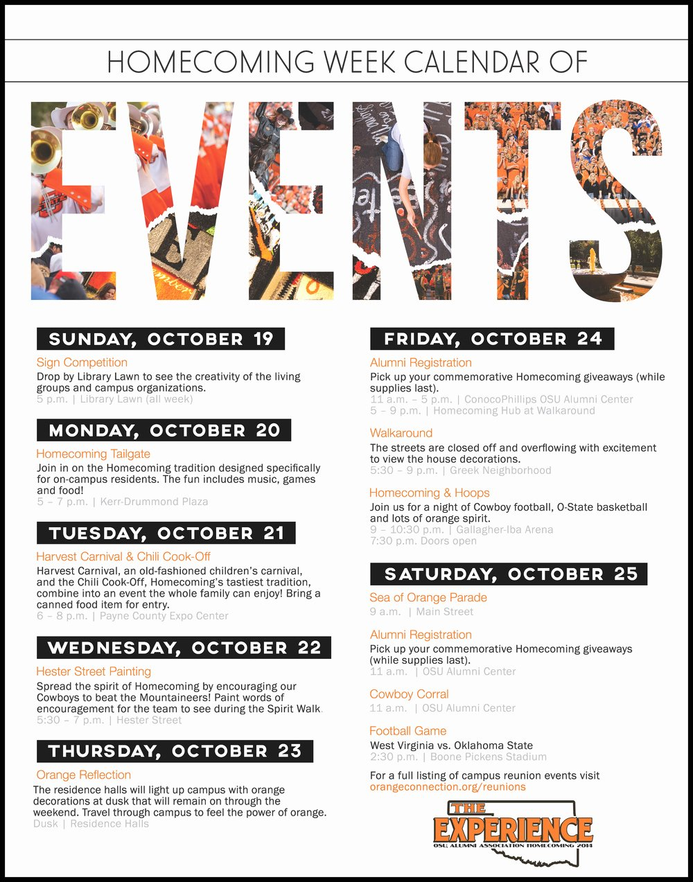 Schedule events Flyer Google Search Sample Flyers and
