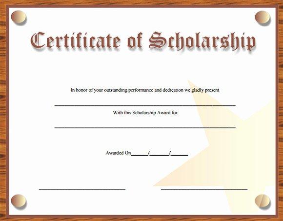 Scholarships Certificate Template Masir Scholarship
