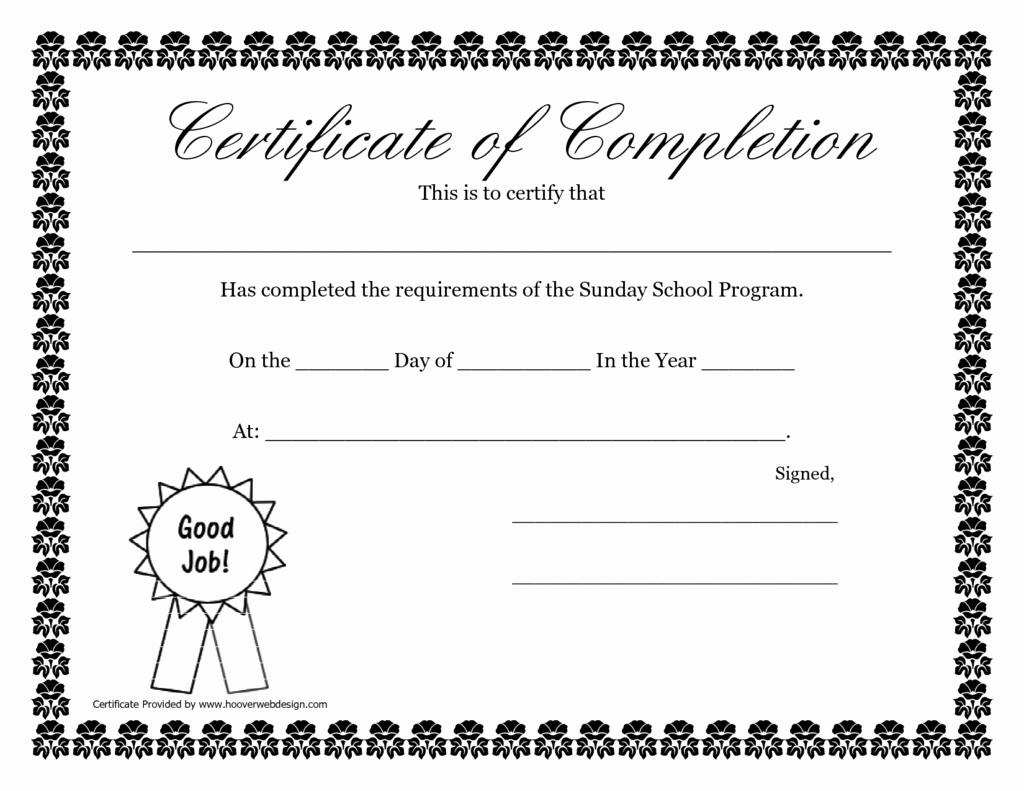 School Certificates Sample Templates