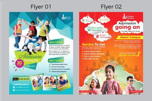 School Flyer 23 School Flyer Templates Free Premium