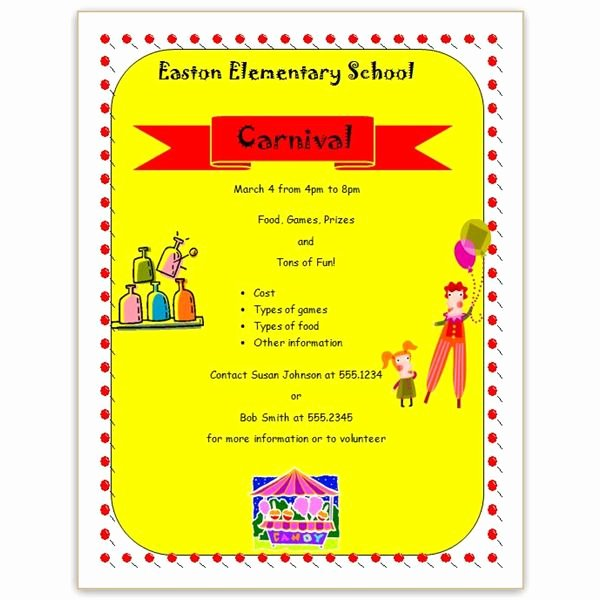 School Open House Flyer Template Find Free Templates with