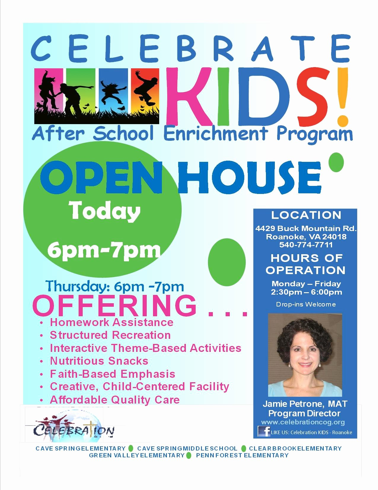 School Open House Flyer Template Portablegasgrillweber