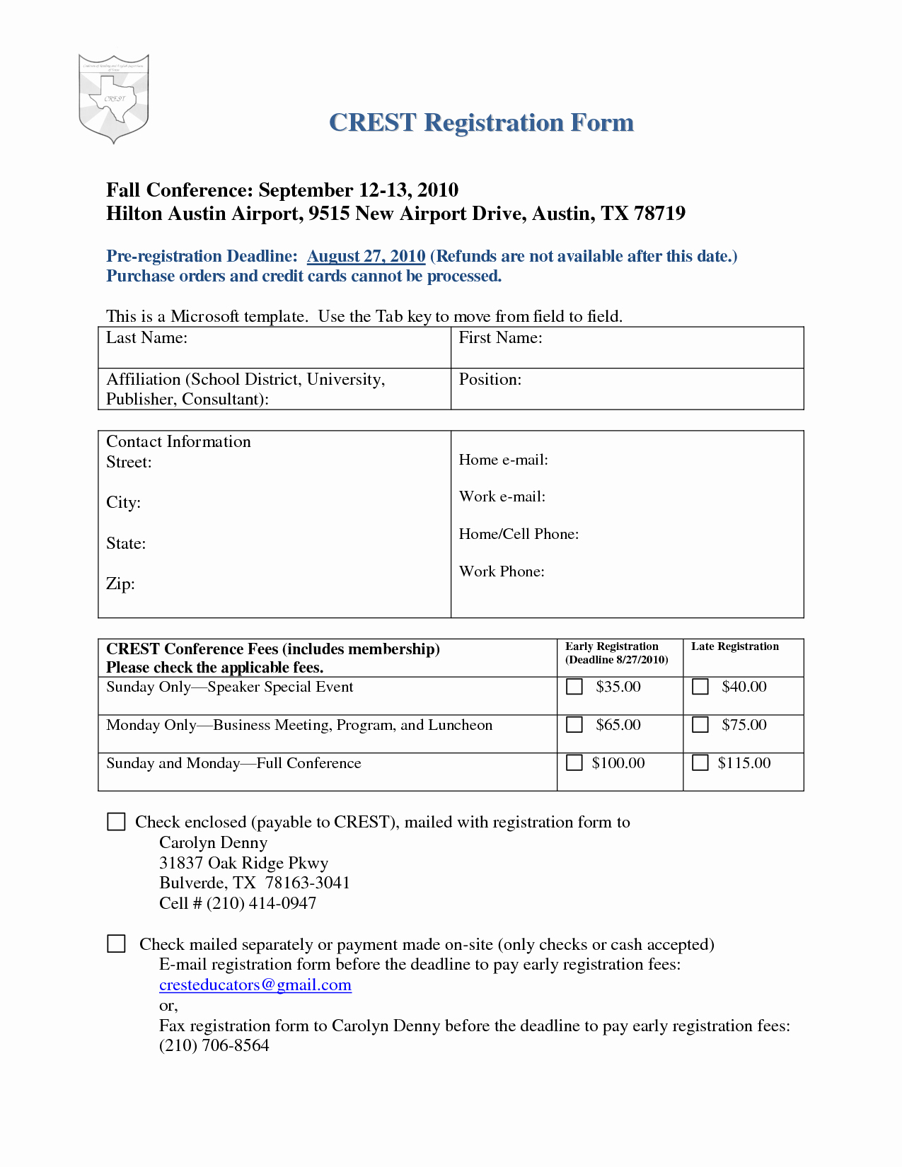 School Registration form Template Portablegasgrillweber
