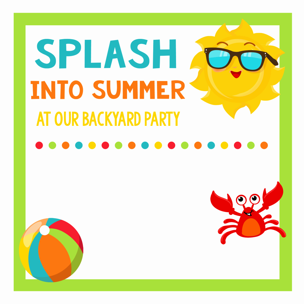 School S Out Party Summer Celebration for Kids – Fun Squared